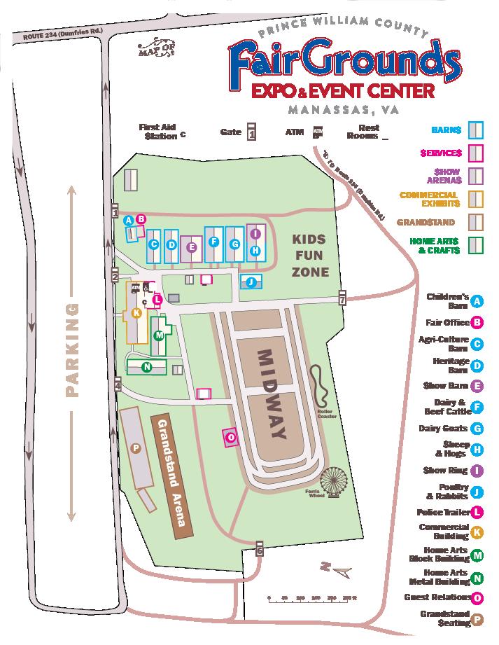 Fairground Map View