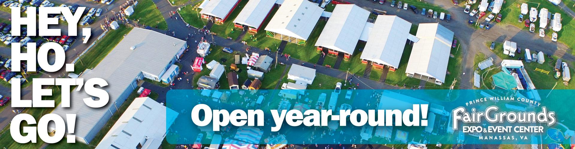 Year Round Events Banner
