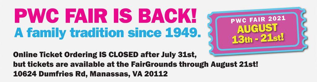 Fair Is Closed